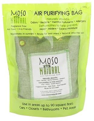 Moso Natural - Air Purifying Bag Fragrance Free Green