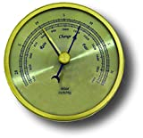 General Tools ABAR300 Analog Barometer with Brass Case and 3-Inch Dial