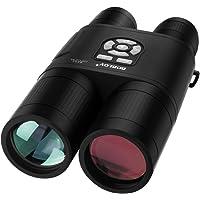 BOBLOV Lunette d'Observation de Télescope Binoculaire de Vision Nocturne Jumelles Numériques de 8x52mm pour l'observation d'Oiseau Chassant