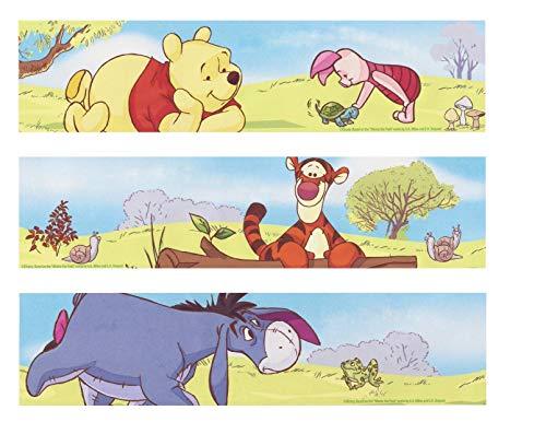 Winnie-the-Pooh Winnie the Pooh Bear Tigger Piglet Eeyore Edible Cake Topper Image Strips ABPID00410 - Pooh Cake Bear Birthday