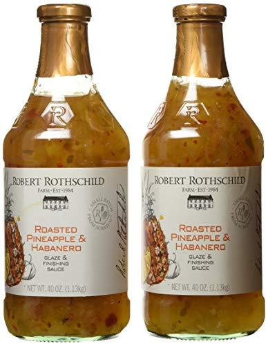 Robert Rothschild Farm Roasted Pineapple & Habanero Glaze & Finish Sauce 2 Pack