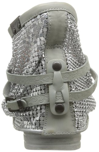 Femme Boots Bunker s Criss Grey Gris EqZP8gw