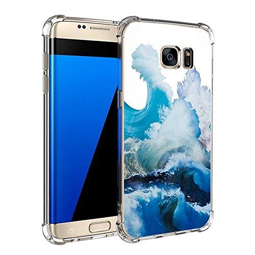 Price comparison product image Beryerbi Samsung galaxy s7 edge Ultra Slim Soft TPU Air Cushion Technology & Hybrid Drop Protection Cover (1, galaxy s7 edge)