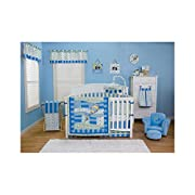 Dr. Seuss Oh! The Places You'll Go! Blue Baby Bedding Collection by Trend Lab Mobile