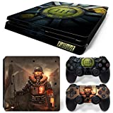 PS4 Slim Vinyl Skin Sticker Decal Cover for PlayStation 4 PS4 Slim Console Controller Fallout 111