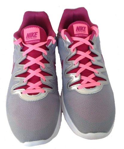 Scarpa Da Allenamento Nike Womens Air Max Fusion (6.5, Argento Metallizzato / Fucsia)