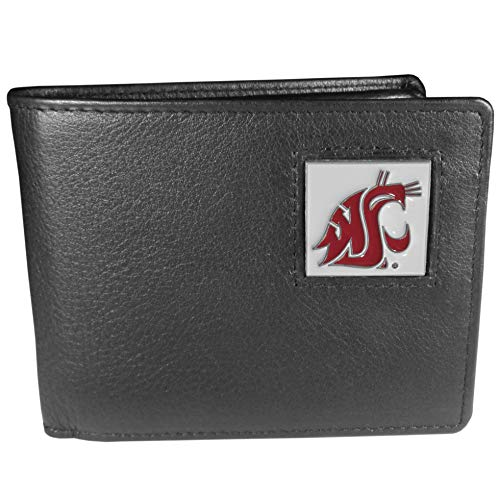 NCAA Washington State Cougars Leather Bi-fold ()