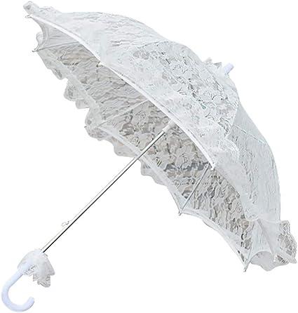 Umbrella Photo Props White Lace Parasol Lace Umbrella White Lace Umbrella Parasol Photo Props Large Wedding Parasol