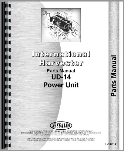 Power Units Parts Catalog Manual - 4
