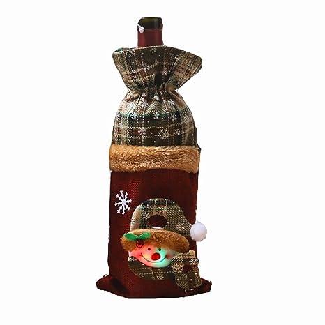 Kentop - 2 Bolsas para Botellas de Vino, una Bolsa para ...