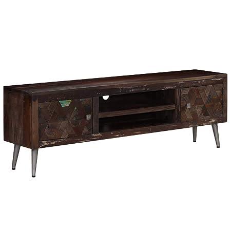 Nishore - Mueble de TV Vintage, Mesa de televisión, Mesa Baja ...