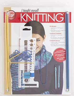 Boye Beginners Teach Yourself Knitting Set by Simplicity Creative Group, Inc