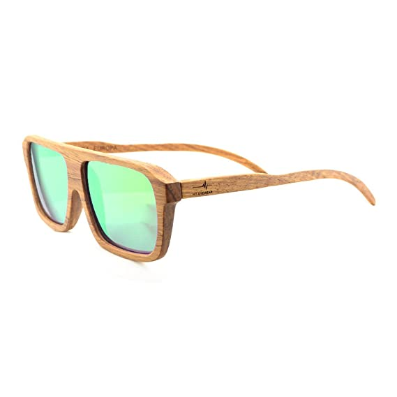 Gafas de Sol Modelo Way Polarizadas de Madera Color Pino ...