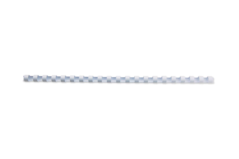 GBC Combbind Spirale in Plastica per Rilegatura 8 mm, Nero, 25 Pezzi ACCO Brands 4020620