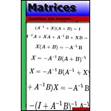 Matrices: Questions and Answers