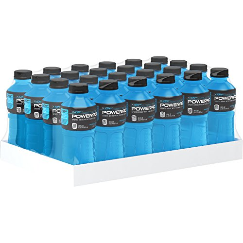 POWERADE, Electrolyte Enhanced Sports Drinks w/ vitamins, Mountain Berry Blast, 20 fl oz, 24 Pack