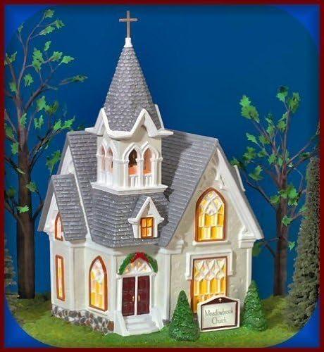 Amazon.com: Department 56 Meadowbrook Church ~The Original Snow