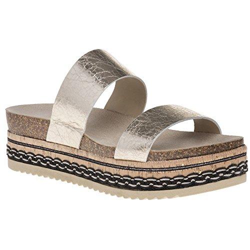 Sole Gold Skylar Sole Skylar Sandals Metallic U1wq58w