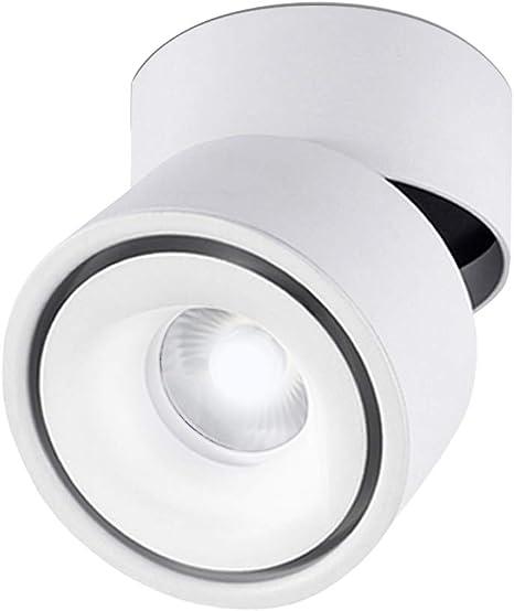 Modern Aluminum 3W LED Ceiling Lamp TV wall Light Spotlight Rotatable Fixture