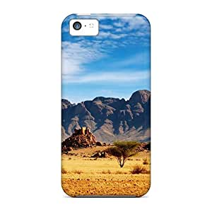 Sanp On Cases Covers Protector For Iphone 5c (nature Mountains 03)