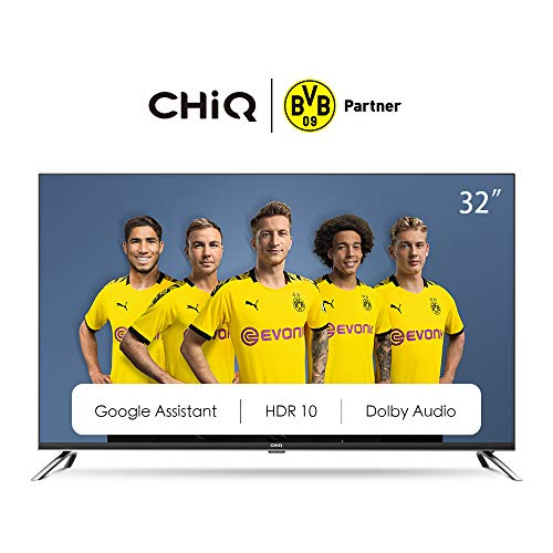 🥇 CHiQ Televisor Smart TV LED 32 Pulgadas