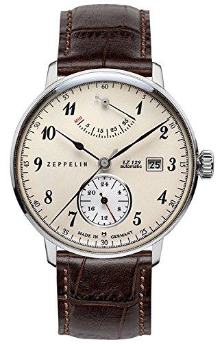ZEPPELIN watch Hindenburg white dial 7060-4N Men's parallel import goods]