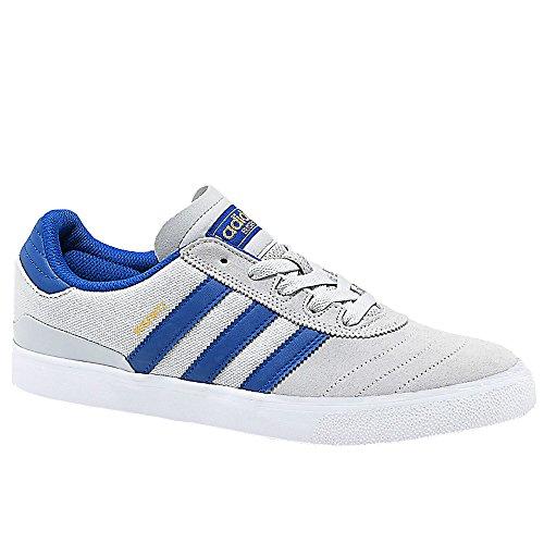 adidas Skateboarding Men's Busenitz Vulc Light Grey Heather Solid Grey/Collegiate Royal/Footwear White 10 D (Collegiate Royal Footwear)