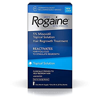 Men's Rogaine Solution One Month Supply