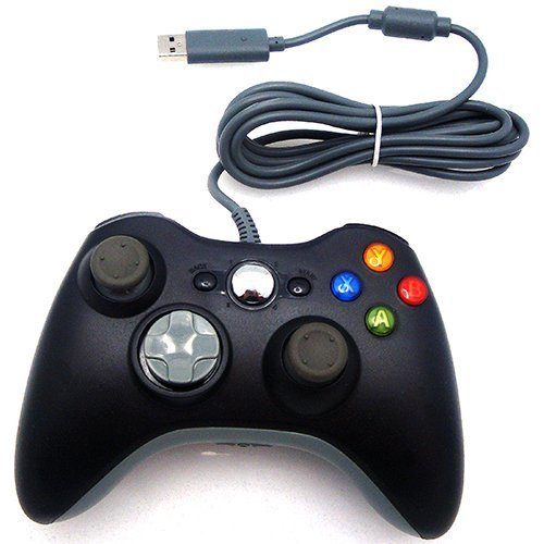 Xbox 360 Wired Controller. Black