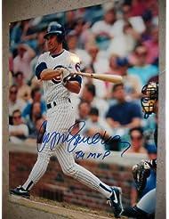 """RYNE SANDBERG / Chicago Cubs signed """"84 MVP"""" 16x20"""" photo / Notarized COA"""
