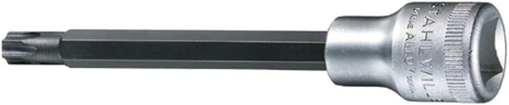 /Argent Stahlwille Stw2054txt40/1//5,1/cm T40/Drive Extra long Torx Douille/