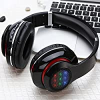 LED Light HD Wireless Bluetooth Stereo Headset