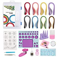 IMISNO Most Complete Paper Quilling Kit by IMISNO