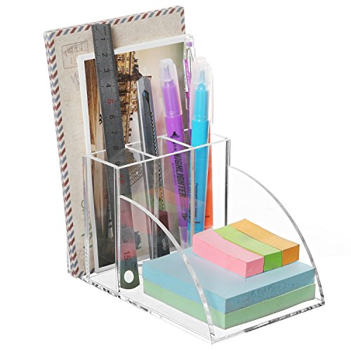 Premium Acrylic Desktop Supplies Organizer