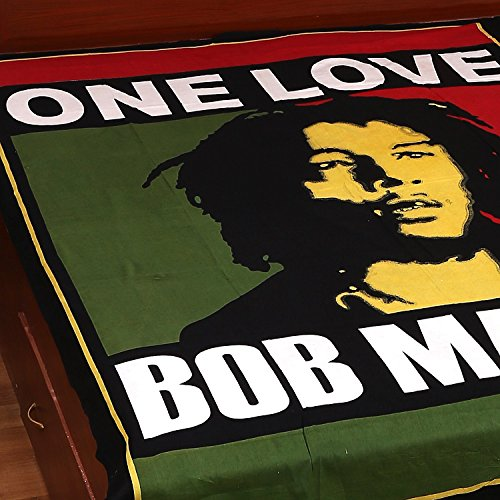 Beautiful Twin Bob Marley Print 100 Cotton Bedding Bed Cover Duvet