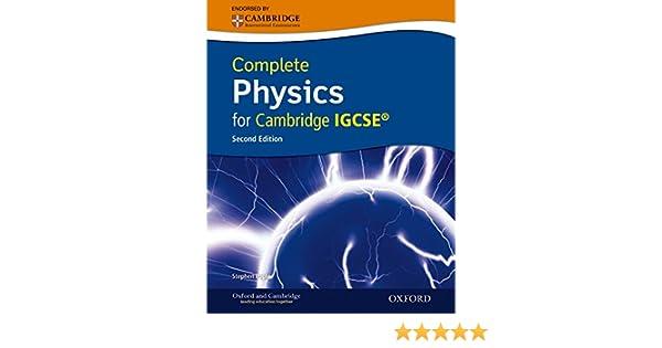 Amazon complete physics for cambridge igcserg with cd rom amazon complete physics for cambridge igcserg with cd rom second edition 9780199138777 stephen pople books fandeluxe Gallery