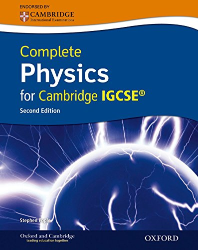 Complete Physics for Cambridge IGCSERG with CD-ROM (Second Edition)