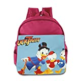 Kids DuckTales School Backpack Cute Baby Children School Bags Pink