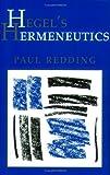 Hegel's Hermeneutics, Paul Redding, 080148345X