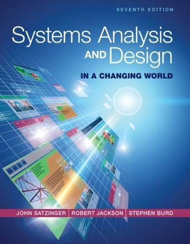 Systems Analysis and Design in a Changing World cover