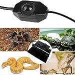 ATian Reptile Heating Pad, Reptile Tank Warmer with Temperature Controller Pet Heat Mats 13