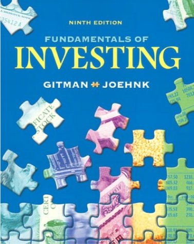 Fundamentals of Investing (9th Edition)
