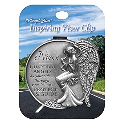 Angelstar 15688 Niece Guardian Angel Visor Clip Accent, 2-1/2-Inch: Home & Kitchen