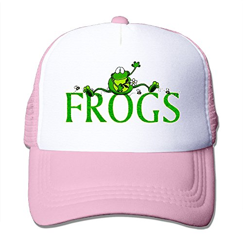FROGS Outdoor Mesh Hat Tennis Cap Hat Adjustable Baseball (Frog Trucker Hat)