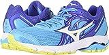 Mizuno Women's Wave Inspire 14 Running Shoe, Dapple Gray/Clover, 9.5 D US