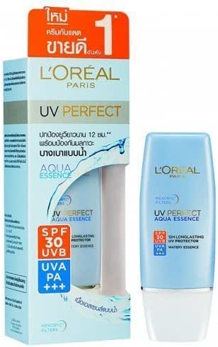 L'oreal Sunscreen Uv Perfect Aqua Essence Spf 30 Uvb Pa+++ 30 Ml. by L'Oreal Paris