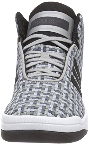 adidas Veritas Mid Weave - Zapatillas para hombre Gris - Grau (Light Onix/Core Black/Ftwr White)