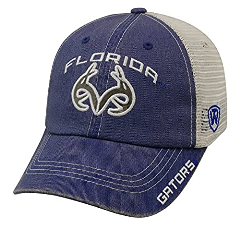 Top of the World NCAA-Past-Trucker Mesh-Adjustable Hat Cap-Florida Gators - Florida Gators Baseball Cap
