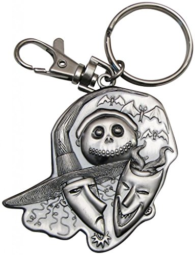 NBX Lock Shock and Barrel Pewter Key Chain