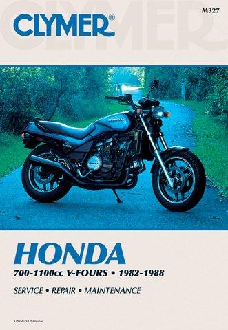 82 Honda V45 Sabre (CLYMER MANUAL HON 700-1100CC V-FOURS 82-88)